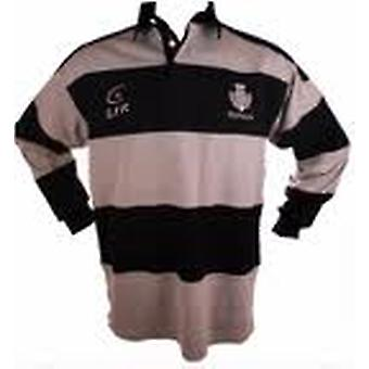 Scotland Thistle Grey/Navy Striped Rugby Shirt by Live for Rugby Sizes XS - 3XL