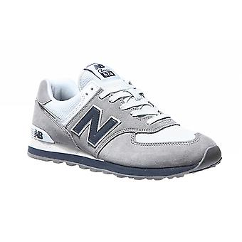 New balance 574 leather sneaker grey