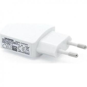 Huawei HW-050200E3W power adapter 2A op USB lader, laadkabel wit van de reis