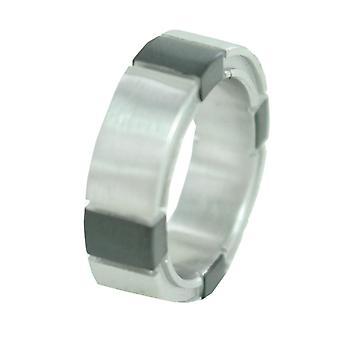 اسبري الرجال خاتم الفولاذ المقاوم للصدأ من على حافة ESRG11043A180 18 غرام