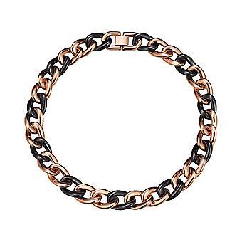 ESPRIT collection ladies chain stainless steel Rosé CERAMIA ELNL11855D420