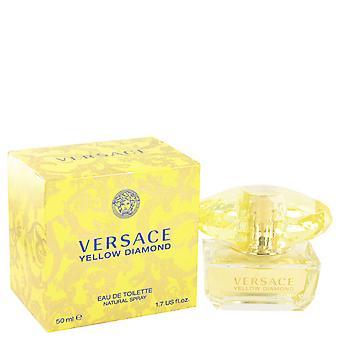 Versace amarillo diamante Eau de Toilette 50ml EDT Spray