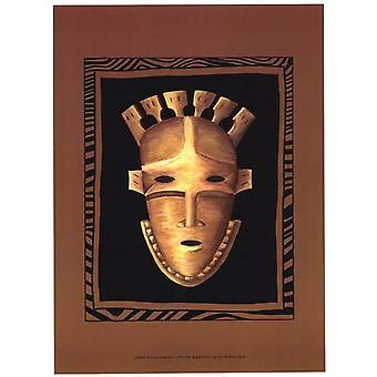 African Mask III Poster Print by Chariklia Zarris (10 x 13)