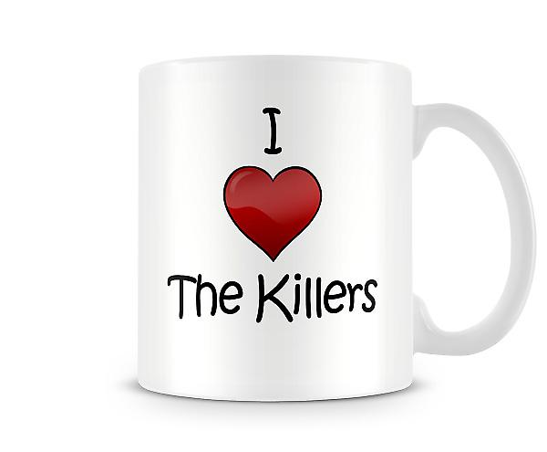 I Love The Killers Printed Mug