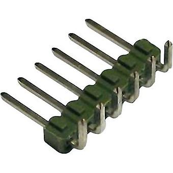 TE Connectivity Pin strip (standard) No. of rows: 1 Pins per row: 8 826631-8 1 pc(s)