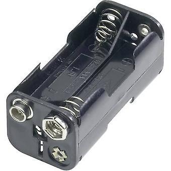Goobay 11990 Battery tray 4x AAA Stud and socket (L x W x H) 54.5 x 26 x 24.5 mm