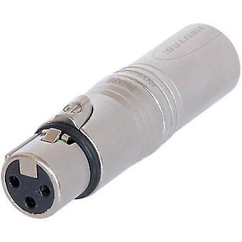 XLR adapter XLR socket - XLR plug Neutrik NA3F5M 1 pc(s)