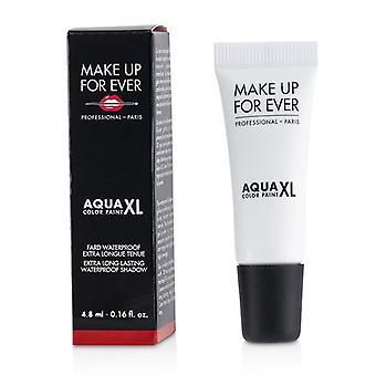 Gøre op For nogensinde Aqua XL farve maling vandtæt skygge - # M-16 mat hvid - 4.8ml/0.16oz