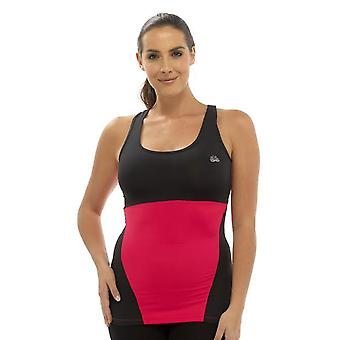 Ladies Tom Franks Two Tone Sport Gym Top Fashion Vest Sportswear