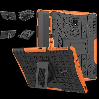Hybrid outdoor protective cover case Orange for Samsung Galaxy tab S4 10.5 T830 T835 bag