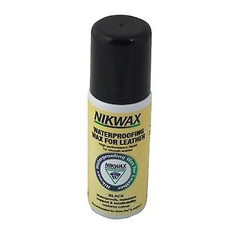 NIKWAX WATERPROOFING WAX FOR LEATHER LIQUID AQUEOUS WAX BLACK