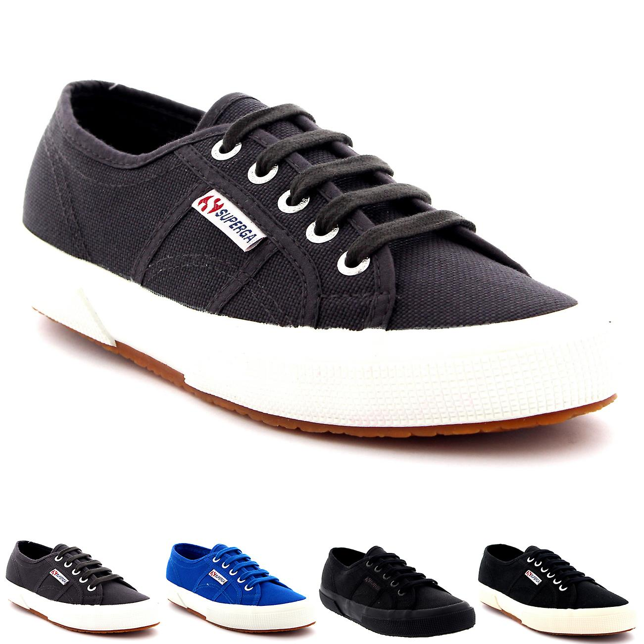 Mens Superga 2750 Cotu Classic Low Top Lace Up Plimsolls Casual Trainers | Up-to-date Stile  | Sig/Sig Ra Scarpa