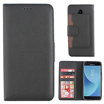 Colorfone Wallet Samsung Galaxy J7 2017 Wallet Case schwarz
