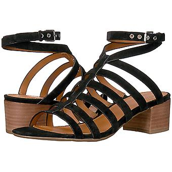 Franco Sarto Womens Finesse Open Toe Casual Ankle Strap Sandals