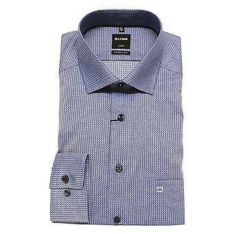 Olymp Shirt 1242 34 18 Blue