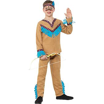 Native American boy kids costume Native American of Wild West Carnival