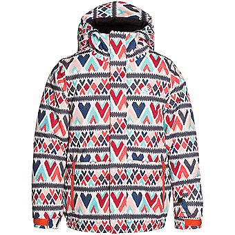 Rip Curl Red Orchid Olly Printed Girls Snowboarding Jacket