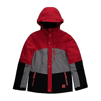 Oneill Hibiscus Red Coral Girls Snowboarding Jacket