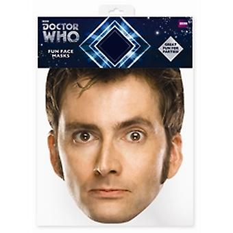 David Tennant doctor Card Quién Mascarilla (El Décimo Doctor)