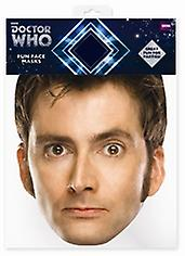 David Tennant Doctor Who kaart gezichtsmasker (de tiende Doctor)