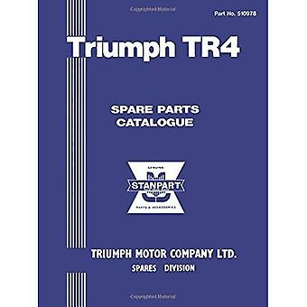 Triumph TR4 Parts Catalogue (Official Triumph Parts Catalogue): Part No. 510978