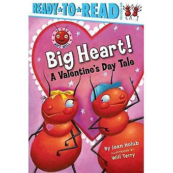 Großes Herz!: eine Geschichte der Valentinstag (Ready-To-Read: Pre-Ebene 1)