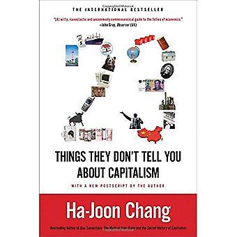 23 ting de ikke fortelle deg om kapitalismen
