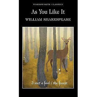 As You Like It (Wordsworth Classics)