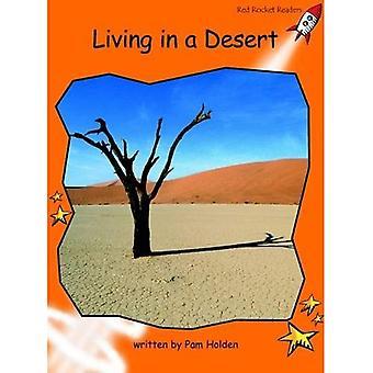 Living in a Desert: Level 1: Fluency (Red Rocket Readers: Non-fiction Set B)