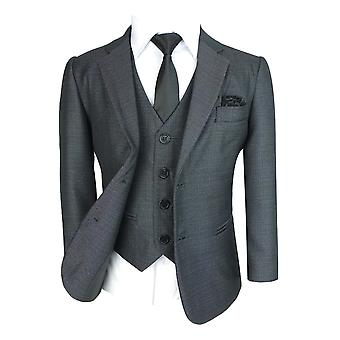 Boys All in One Tonic Grey Suit