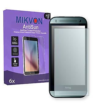 HTC One mini 2 Screen Protector - Mikvon AntiSun (Retail Package with accessories)