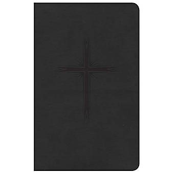 CSB Pocket Gift Bible, Charcoal Leathertouch
