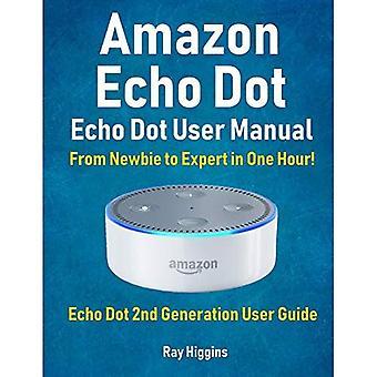 Amazon Echo Dot: Echo Dot User Manual: From Newbie to Expert in One Hour: Echo Dot 2nd Generation User Guide: (Amazon Echo, Amazon Dot,
