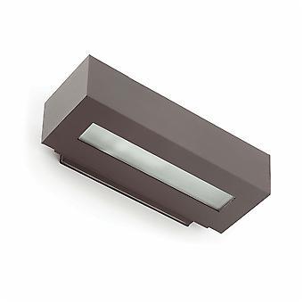 Faro - West donker grijs twee-richting buiten muur licht FARO70899