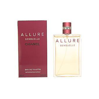 Chanel Allure Sensuelle Edt Spray 100 Ml voor vrouwen