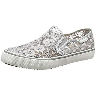 BRITISH KNIGHTS shoes floral ladies Silver Slipper