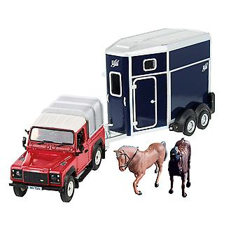 Britains Land Rover Pferd Set