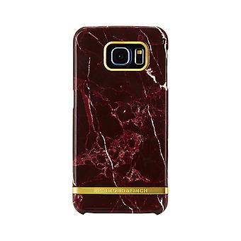 Richmond & Finch covers for Samsung Galaxy S6-Red Marble