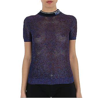 Prada Purple Viscose T-shirt