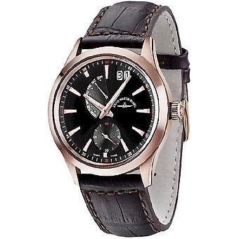 Zeno-watch mens watch gentleman quartz 6662-7004Q-PGR-f1