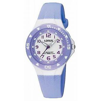 Lorus Lilac Childrens Analogue RRX51CX9 Watch