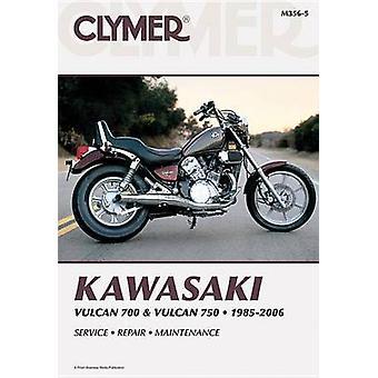 Clymer Kawasaki Vulcan 700 and Vulcan 750 - 1985-2006 (5th Revised ed