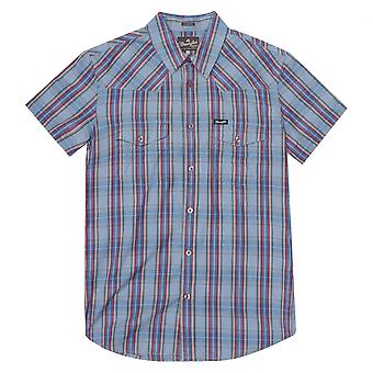 Wrangler Western Check Shirt - Ashley Blue