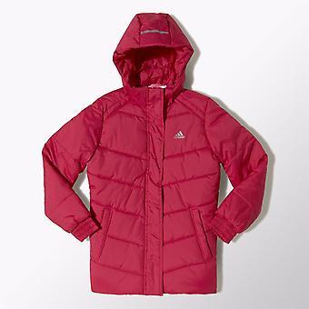 Adidas Girls Padded Hooded Jacket
