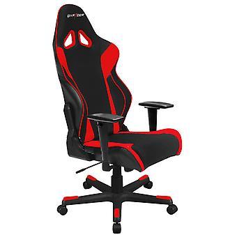 DX Racer DXRacer OH/RW106/NR High-Back X Rocker Gaming Chair Strong Mesh+PU(Black/Red)