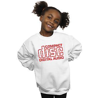 Compact Disc Girls Red Logo Sweatshirt