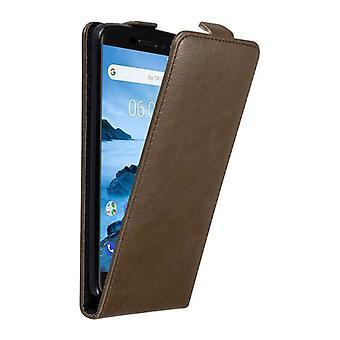 Cadorabo tilfældet for Nokia 6,1 2018 sag Cover-telefon tilfældet i flip design med magnetisk lukning-sag Cover sag case sag bog folde stil