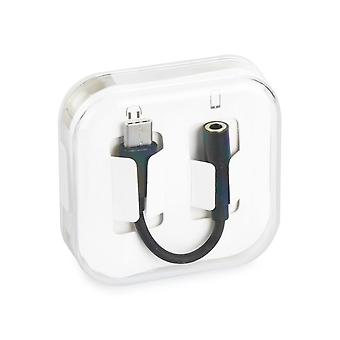 Type C naar audio (3.5mm) kabel - zwart  in BOX