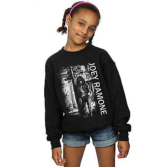 Joey Ramone Girls Street Sign Sweatshirt