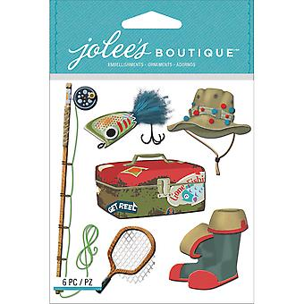 Jolee's Boutique Dimensional Stickers Fishing E5021642